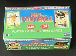 1989 Score NFL Football (Empty) Factory Set Collectible Box no card Clean/Nice b