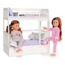 Our Generation Bunk Bed and Bedding for 18 inch Dolls