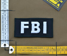 "Ricamata / Embroidered Patch ""FBI"" with VELCRO® brand hook"