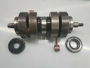 Suzuki T250 or T350 Crankshaft Rebuild Service Crank Bearings, Seals and Rods