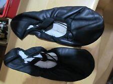 BLOCH Turnschläppchen Ballettschläppchen Schläppchen schwarz Gr. Größe 3 D breit