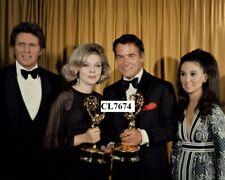 Robert Brown, Barbara Bain, Carl Betz, Marlo Thomas at 21st Emmy Awards Photo