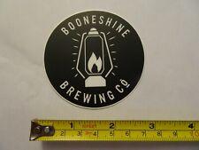 Booneshine Brewing Co. Boone, NC Brewery Classic Beer Logo Bumper Sticker