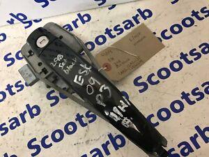 SAAB 9-3 93 Left Front Door Handle col 298 Jet Black 12780125 12842378 2008 2010