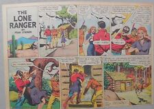 Lone Ranger Sunday Page by Fran Striker and Charles Flanders from 5/2/1943