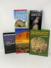 Tas Auction 2020: Set Of Texas Guide Books Birds Trees Flowers Tracks And Hikes