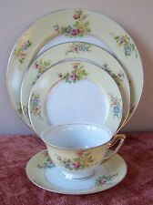 MEITO 5 PIECE PLACE SET(7 AVAIL)MEI419 DINNER PLATE SALAD BREAD CUP SAUCER JAPAN