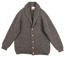 Northern Watters Knitwear Derby Tweed Shawl Collar CHUNKY Cardigan Sweater 44