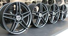 4x 18 Zoll Alufelgen Mercedes A B C Klasse CLA CLK GLC GLK SLK Schwarz RIAL M10