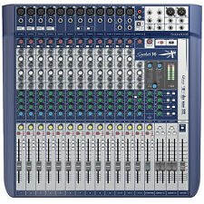 SOUNDCRAFT SIGNATURE16 FX Compressor Limiter USB Ableton Live 9 Lite Mixer