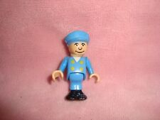 "Brio Blue Engineer Train Conductor Figure 2"" tall"