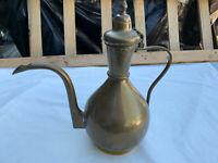 Brass jug long spout & handle lot MRE250420