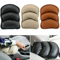 New Auto Car Center Console Box PU Armrest Soft Cushion Pad Cover Mat Comfort
