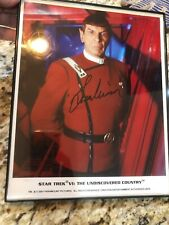 Leonard Nimoy Star Trek VI: The Undiscovered Country Autographed Picture