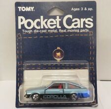 Tomy Tomica Pocket Cars Toyota Corolla Levin Blue No.78 Die-Cast Metal Car Japan