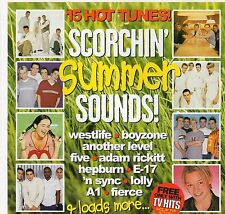 15 Mixed Music Tracks | SCORCHIN SUMMER SOUNDS | Good condition | Free shipping