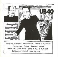UB40 CD Live - Europe (EX+/M)