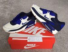 Nike Air Max 90 Premium - Home & Away - Sail/Blue/White - UK9/US10 - BNIB W/Rcpt