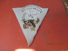 WWII US ARMY 515 TH PARACHUTE INFANTRY REGIMENT BLACK FOX   JACKET  PATCH