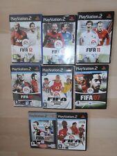 Bundle of Fifa Football games Playstation 2