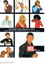 PUBLICITE ADVERTISING 016  2002  RTL radio  Christophe Dechavanne