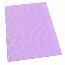 "Dynarex Dental Bibs - Lavender,17 3/4"" x 12 7/8"" - 500/Case"