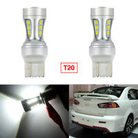 2Pcs Error Free T20 LED Backup Reverse Parking Projector Bulbs For LANCER EX 10+