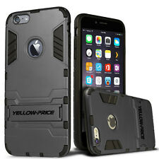 For iPhone 6S Plus ShockProof Defender Heavy Duty Armour Case Stand Cover Films