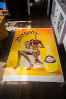 ORANGINA NATURALY SEXY Style D 4x6 ft Shelter Original Food Advertising Poster