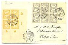 NED INDIE - DUTCH INDIES 1930-12-10 GOOD FRANKS !!---VF @1