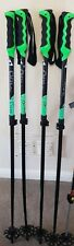 Fischer Backside Vario Touring Flicklock Adjustable Ski Poles 110cm - 135cm