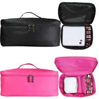 NYK1 Professional Large Make-Up Bag Vanity Case Box Cosmetic Nail Tech Storage