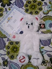 """New Ghostbusters BABW 17"""" White Limited Build a Bear Plush UnStuffed Certificate"""
