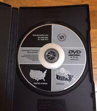 2003-2007 CADILLAC CTS V NAVIGATION SYSTEM MAP DVD VERSION 6.0 25813529 W/ CASE