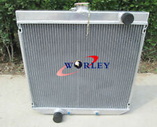 56mm 3 Row For 1969-1972 FORD FALCON XY/XW 302/250 V8/L6 AT/MT ALUMINUM RADIATOR