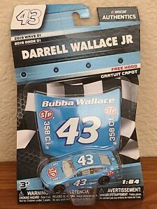 2019 Wave 1 Darrell Wallace STP 2018 Darlington Throwback 1/64 NASCAR Authentics