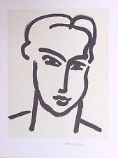 Henri Matisse Lithograph Limited Grande Tete De Katia 1950 / 1994