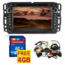 "GPS Navigation 7"" 2Din Car Video DVD Player Stereo Bluetooth for 2007-2013 GMC"