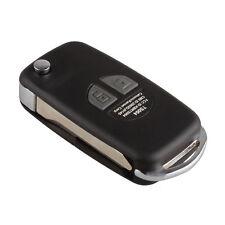 New 2 Buttons Remote Key Shell Blank Folding Flip Case Fob For Suzuki SX4 Swift