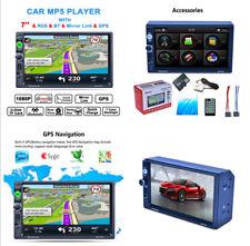 7'' HD MP5 Unit GPS Navigation Bluetooth Reversing Video RDS Radio WIFI MP3 MP4