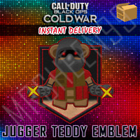 Call of Duty Cold War KontrolFreek Jugger Teddy Animated Emblem DLC