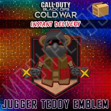 Call of Duty Cold War KontrolFreek Jugger Teddy Animated Emblem DLC