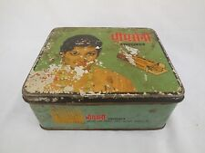 Vintage Bhim saini kajal Advertising tin box container ADV EHS