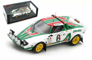 Spark S9083 Lancia Stratos HF Monte Carlo Rally 1976 Bjorn Waldegard 1/43 Scale