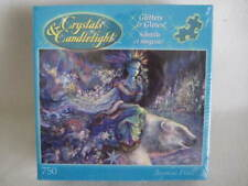 """NIB Crystals & Candlelight Glitters and Glows """"Polar Princess"""" Puzzle 750 Piece"""