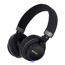 Soul Corporation Bluetooth Headphone Impact Black SI30BK Dynamic Type #1427