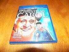 A CHRISTMAS CAROL Holiday Classic Alastair Sim Scrooge BLU-RAY / DVD Combo NEW