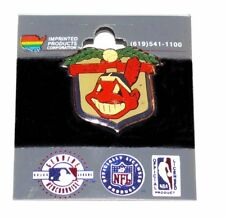 MLB American League Cleveland Indians Enamel Hat Pin Tie Tack Chief Wahoo