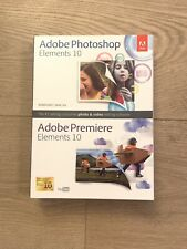 Adobe Photoshop Elements & Premiere Elements 10 for PC & MAC Brand New Sealed