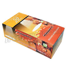 10×50 sheets PINEAPPLE Fruit Flavored Cigarette Rolling Paper 500 Papers 78×44mm